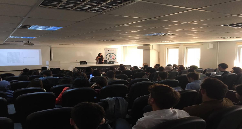 Bölümüz öğrenci kulübü tarafından 3 Mayıs 2019 tarihinde öğrencilerimize yönelik Bilişim Sistemleri Mühendisi Meltem UZAVCI'nın katılımlarıyla