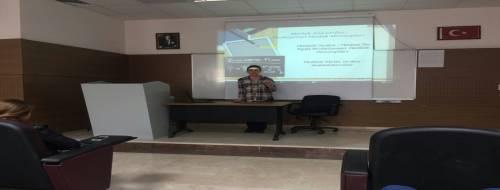Yapı Kredi Bankası İç Denetçi Yardımcısı İlknur KARAASLAN iş hayatına dair tecrübelerini bölüm öğrencilerimiz ile paylaştı.